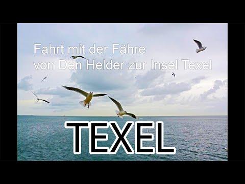 Mit der Fähre von DEN HELDER zur Insel TEXEL xxx TESO Bootdienst