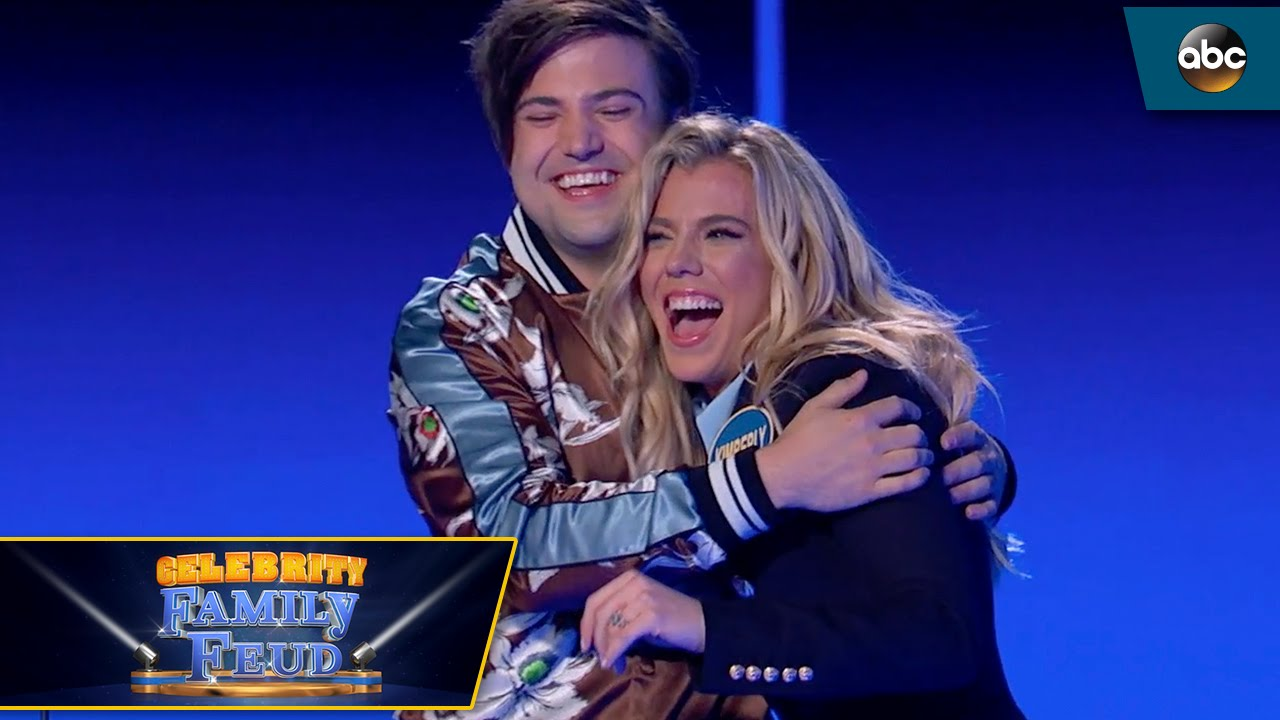 Quickest Fast Money EVER by The Band Perry - Celebrity Family Feud