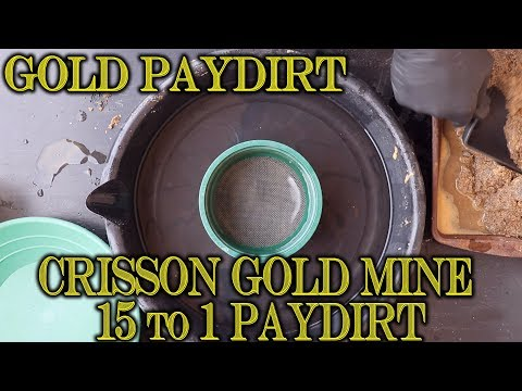 Baixar Gold Prospecting at Home #42 - Crisson Gold Mine Paydirt - 15 to 1