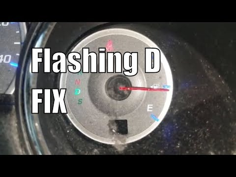 What A blinking D or Flashing Drive light Means
