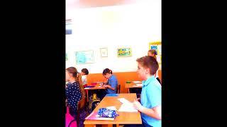 Урок в 4 классе по математика на тему