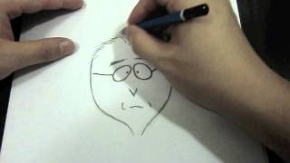 How I draw Mr. Mackey from South Park