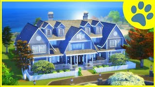 The Sims 4 Cats and Dogs Mansion Build!  (The Sims 4 House Building)