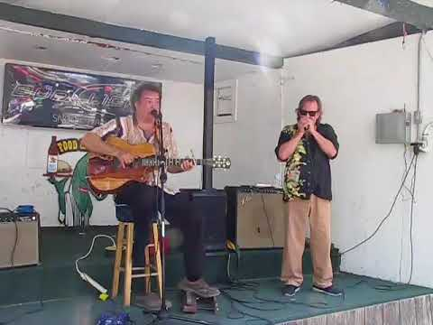 Steve Arvey And Curtis Blake Playing Some Low Down Blues In Venice Florida