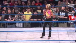 Velvet Sky & Mickie James Segment - Impact Wrestling 6/13/13
