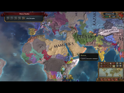 eu4 mamluks timelapse