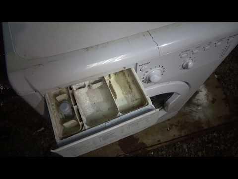 Как отмыть лоток стиральной машины от окаменевшего порошка