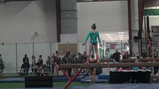 Gambar cover Grace Lim's 9.70 Level 8 Beam Routine 2018 Commonwealth Cup