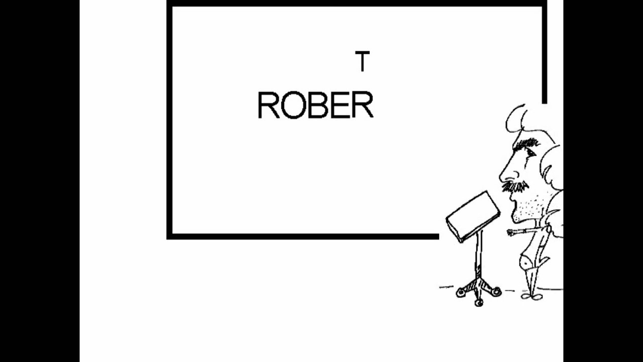 How To Spell Robert In English Spanish Youtube