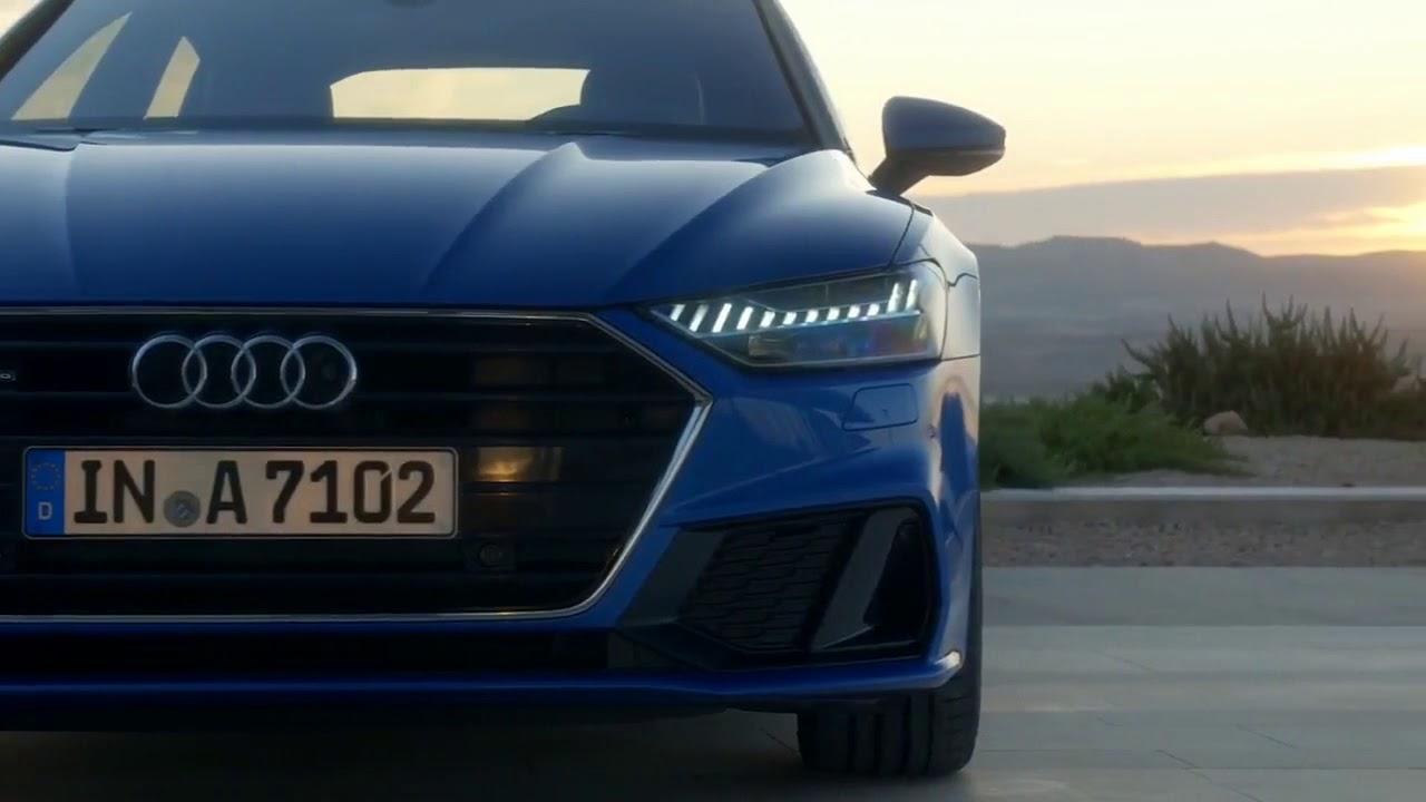 Новый Audi A7 - YouTube