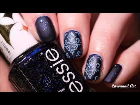 Starry Starry Night Essie : stamping baroque
