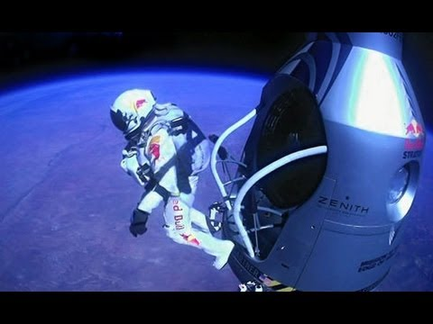 Mission Accomplished - Red Bull Stratos - World Record Freefall - Felix Baumgartner