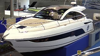 2019 Fairline Targa 43 Luxury Yacht - Deck and Interior Walkaround - 2019 Boot Dusseldorf