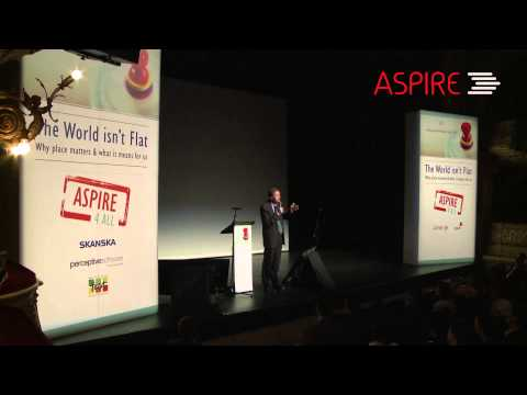 Heroic Leaders: How They Live. Chris Lowney at ASPIRE Acting Local, Winning Global 2014