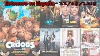 Estrenos en España; 22/03/2013