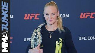 UFC media day at UFC Performance Institute: Valentina Shevchenko