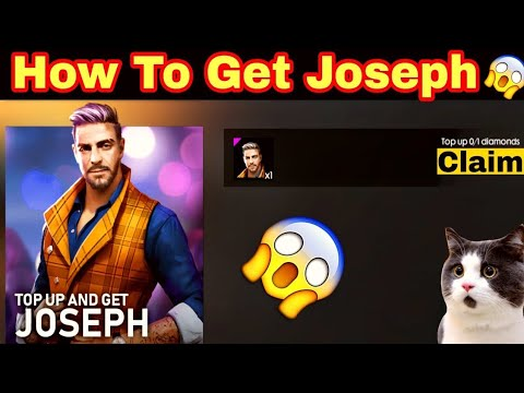 How To Get Joseph Character Free | Codashop Top-Up | #Garena Free Fire | #God Gaming