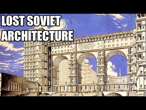 Never built projects of Soviet Moscow