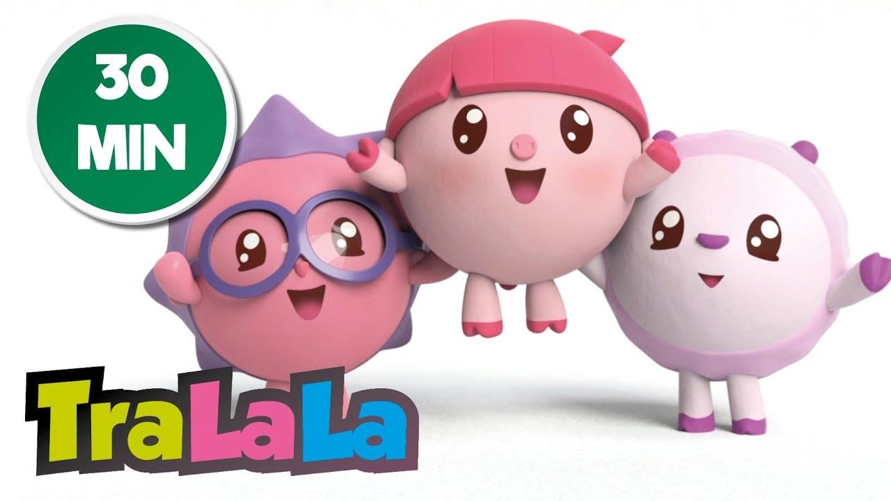BabyRiki 30MIN - Desene animate pentru bebeluși   TraLaLa
