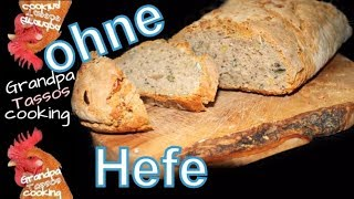 ►🍞Sauerteigbrot backen ohne hefe►🍞baking sourdough bread
