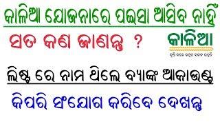 କାଳିଆ ଲିଷ୍ଟରେ ବ୍ୟାଙ୍କ Add କେମିତି କରିବେ | Odisha Kalia Yojana Re Nija bank Kemiti Add Karibe dekhntu