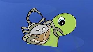 La Tortuga y el Escorpión - Fábula animada