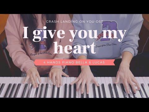 🎵IU(아이유) - I Give You My Heart(마음을 드려요) | 4hands piano