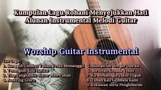 Kumpulan Lagu Rohani Instrumental Guitar Worship Music Lagu Kidung Jemaat PKJ KJ NKB screenshot 5