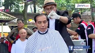 Jokowi Resmikan Proyek Perumahan untuk Pemangkas Rambut Garut - JPNN.COM