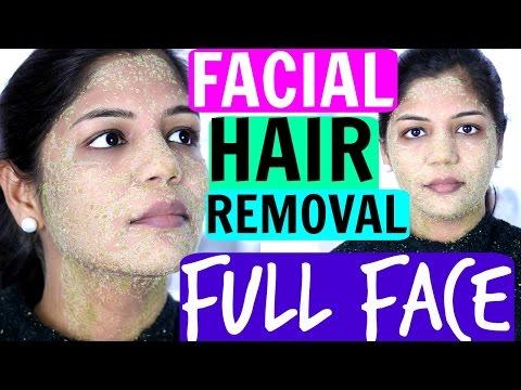 Full Face Facial HAIR REMOVAL | SuperPrincessjo