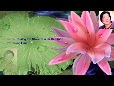 Tân Cổ Giao Duyên - Thương Em Qua Nhiều Lá Thư Xuân - Trọng Hữu & Thanh Ngân