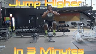 """How To INSTANTLY Increase Your """"Vertical Jump"""" With 3 Exercises - """"Jump higher"""""""