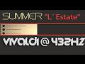 SUMMER - L' ESTATE ? VIVALDI 432Hz ? [Classical Music @ 432Hz ]