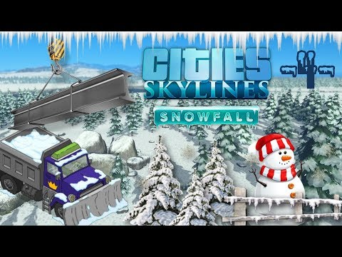Let'splay Cities Skylines SnowFall.fr Les bases de l'énergie fossile! -4-