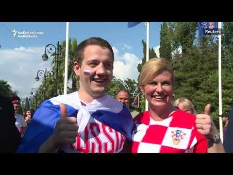 Croatian President Arrives In Sochi To Attend Croatia-Russia World Cup Quarterfinal