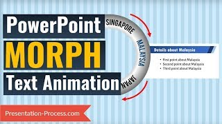 PowerPoint Morph : Text Animation Trick