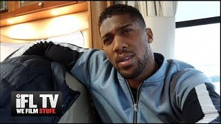 'HE WAFFLES' - ANTHONY JOSHUA ON TYSON FURY, 'RUIZ BEATS WHYTE', PULEV/USYK, 50/50 WILDER-FURY SPLIT