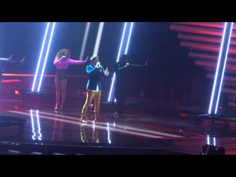 Australia 2nd rehearsal with technical problem - Eurovision 2015 [HD]