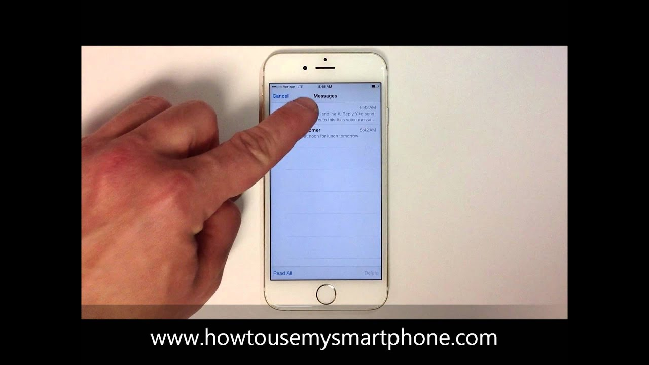 how to remove multiple emails on iphone 6