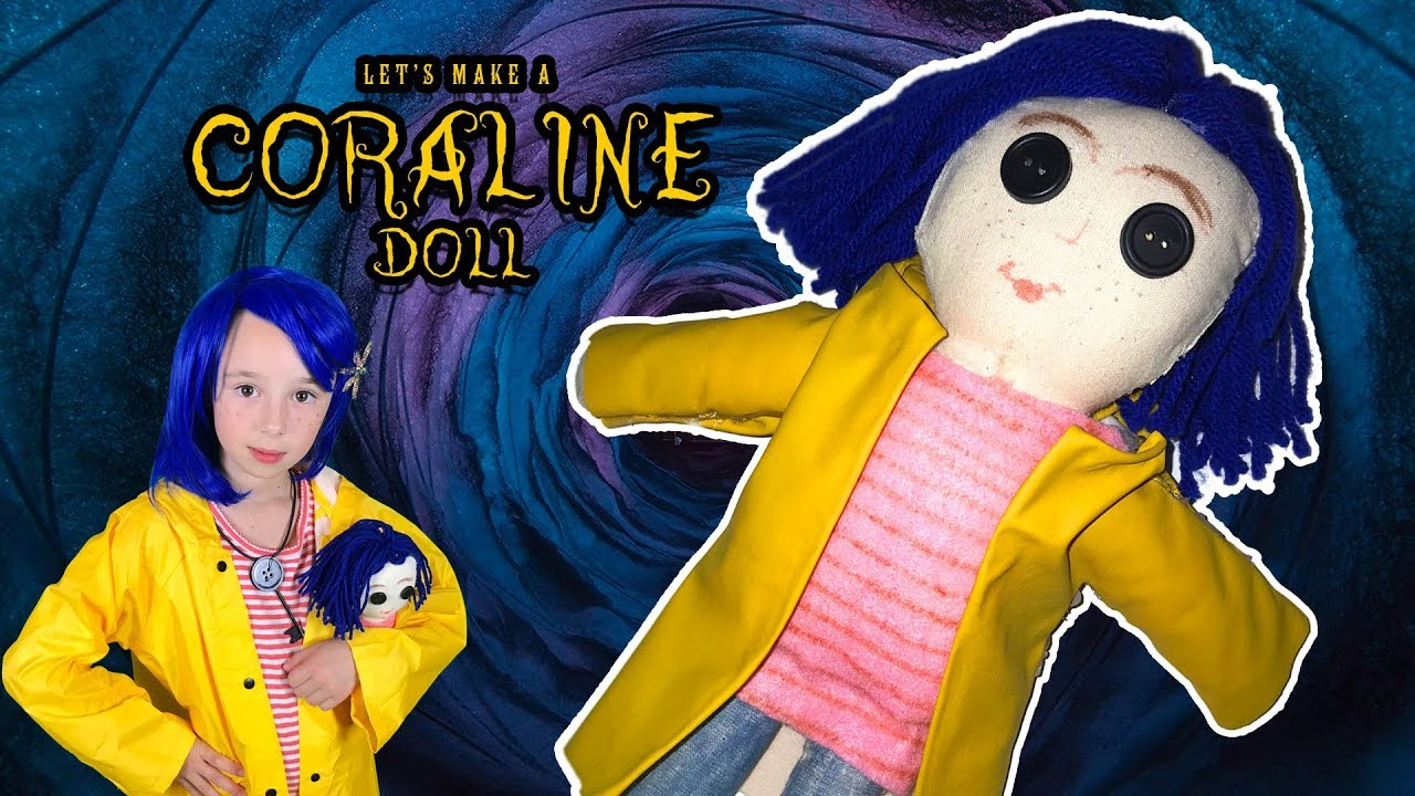 How To Make A Coraline Doll Youtube