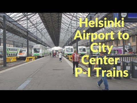 Helsinki Airport To City Center Train