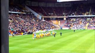 Oldham Athletic v Bradford City,The Fans.