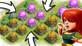 WE COLLECTED 50 MILLION LOOT IN CLASH OF CLANS! HOW!?