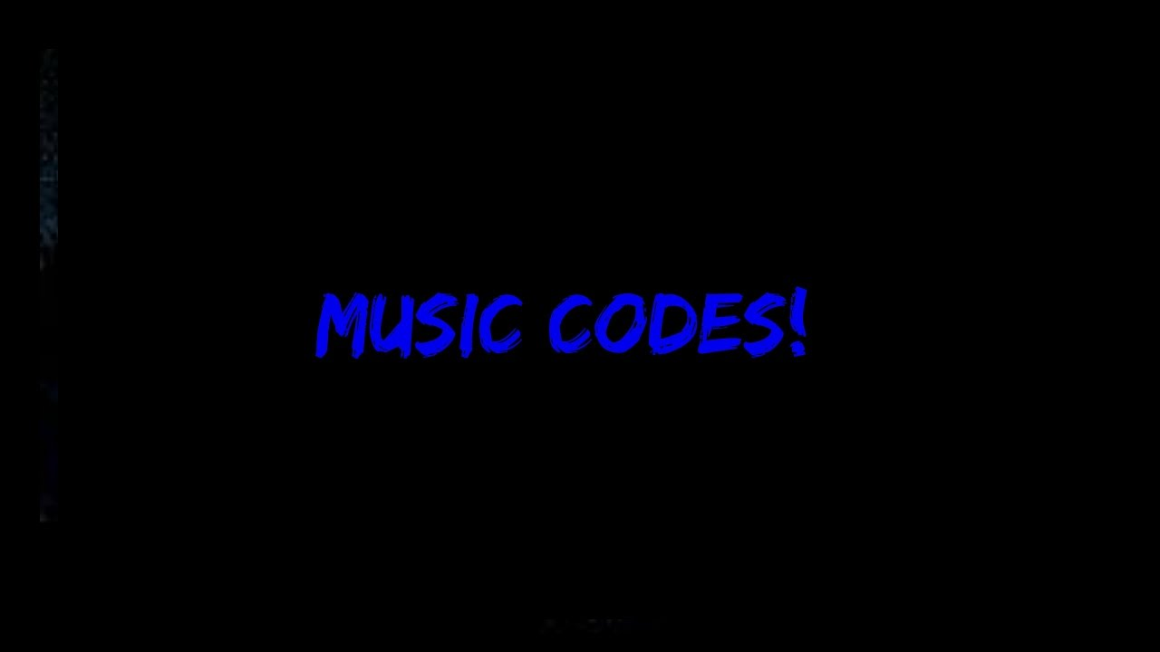roblox codes music song code