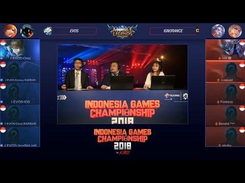 [LIVE] RRQ VS LOUVRE BTR - GRAND FINAL INDONESIA GAMES CHAMPIONSHIP MOBILE LEGENDS 2018
