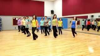 Crazy For You - Line Dance (Dance & Teach in English & 中文)