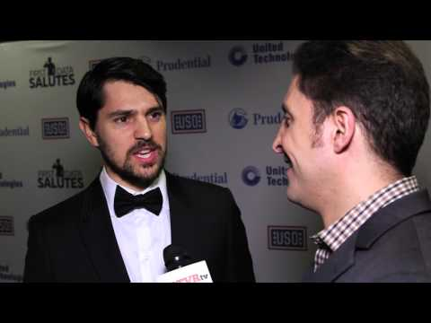 Nicholas D'Agosto at the 54th Annual USO Armed Forces Gala with Arthur Kade