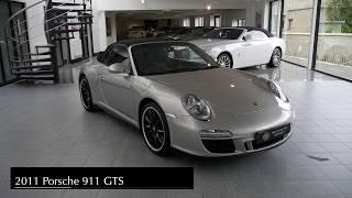 Porsche 911 Carrera 4 GTS Cabriolet 2012 Videos