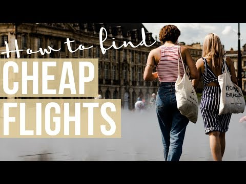 HOW I FIND CHEAP FLIGHTS | Affordable Vacations WITHOUT Credit Card Rewards