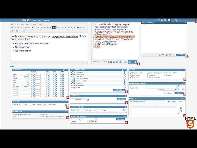 Online WYSIWYG HTML Editor | 𝗣𝗿𝗼𝗳𝗲𝘀𝘀𝗶𝗼𝗻𝗮𝗹